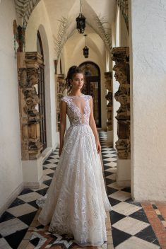Robe Look 18 par Berta collection miami 2019