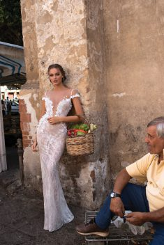 Robe de mariée Brenda par Berta collection Muse 2018 Sicily
