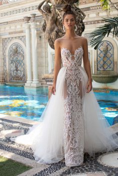 Robe Look 19 par Berta collection miami 2019
