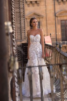 Robe de mariée Briony par Berta collection Muse 2018 Sicily