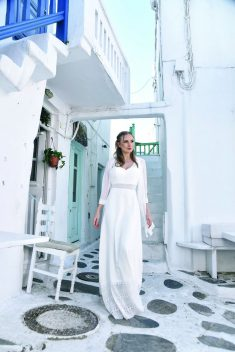 Robe Look 23 par BO'M collection mykonos 2019