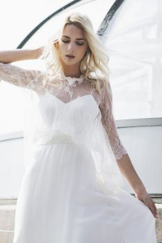 Robe de mariée Bonnie par Caroline Takvorian collection 2018
