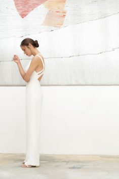 Robe de mariée Andréa par Camille Marguet collection Belonging 2018