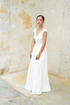 Robe de mariée Auxence par Camille Marguet collection Belonging 2018