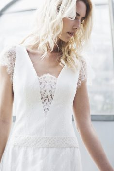 Robe de mariée Elise par Caroline Takvorian collection 2018