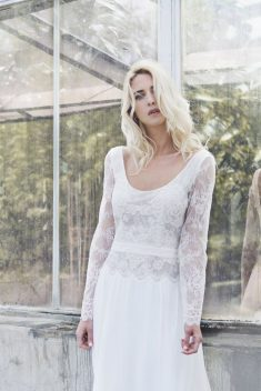 Robe de mariée Emmie par Caroline Takvorian collection 2018