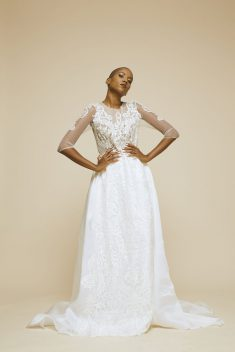 Robe de mariée Federico par Pandore collection 2017