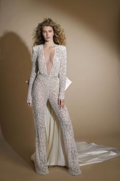 Combi pantalon Look 9 par Gala by Galia Lahav collection 2019