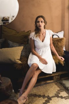 Robe Amourette par Harpe collection civile 2018