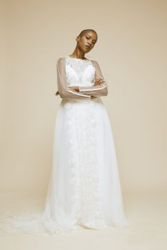 Robe de mariée José par Pandore collection 2017