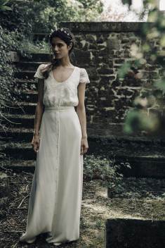 Robe de mariée Gill par Laure de Sagazan collection 2017