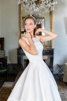 Robe de mariée Lazaro par Francisco Reli collection 2018