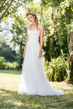 Robe de mariée Leeloo par Francisco Reli collection 2018