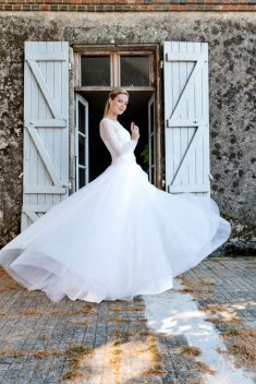 Robe de mariée Top Livia & Jupe Laponie par Francisco Reli collection 2018