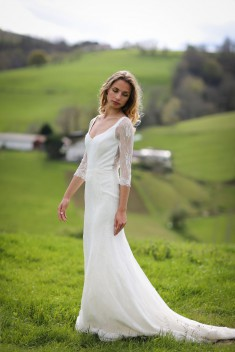 Robe de mariée Loelia par Marie Laporte collection 2017