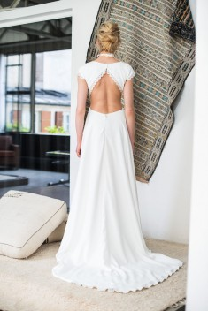 Robe de mariée Berenice par Mademoiselle de guise collection 2018