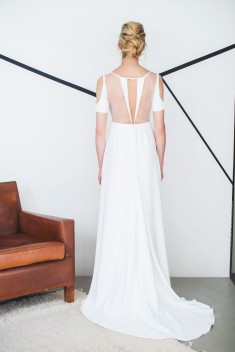 Robe de mariée Eline par Mademoiselle de guise collection 2018