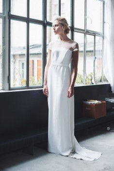 Robe de mariée Ella par Mademoiselle de guise collection 2018