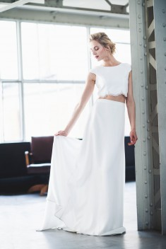 Robe de mariée Suzon Josephine par Mademoiselle de guise collection 2018