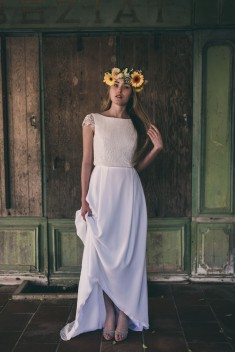 Robe de mariée Emma par Marion Kenezi collection 2017