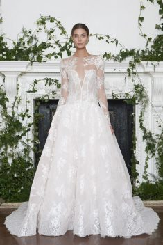 Robe de mariée Channing par Monique Lhuillier collection 2018