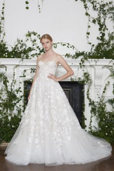 Robe de mariée Lakely par Monique Lhuillier collection 2018