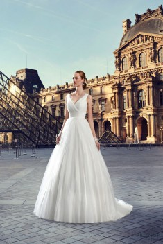 Robe de mariée Chaumont par Pronuptia collection 2017