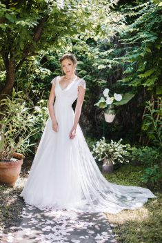 Robe AURORE par Elsa Gary collection 2019 moi la princesse de papier