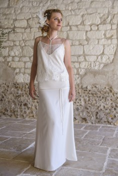 Robe de mariée Denise par Salomé Gautard  collection 2016