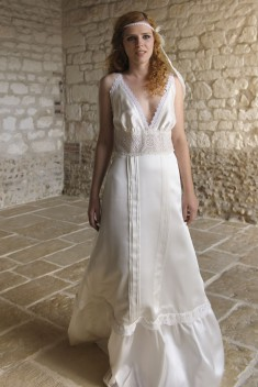 Robe de mariée Suzanne par Salomé Gautard  collection 2016