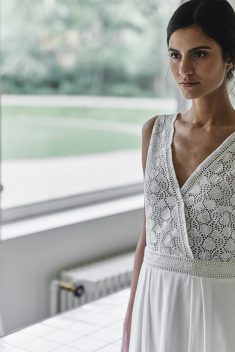 Robe de mariée Wyler par Laure de Sagazan collection 2018
